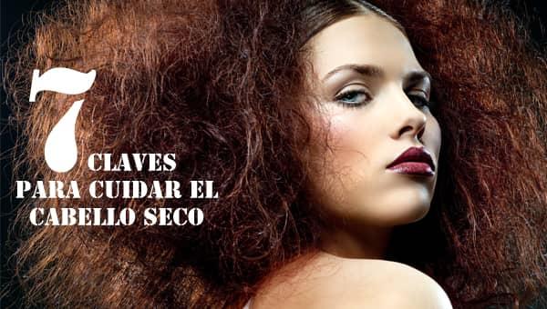 7 claves para cuidar el cabello seco